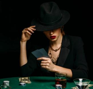 casino selfie